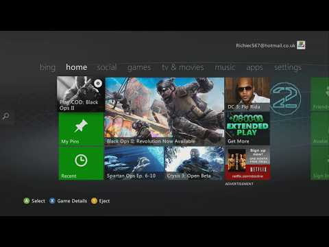 Share xbox live on 360