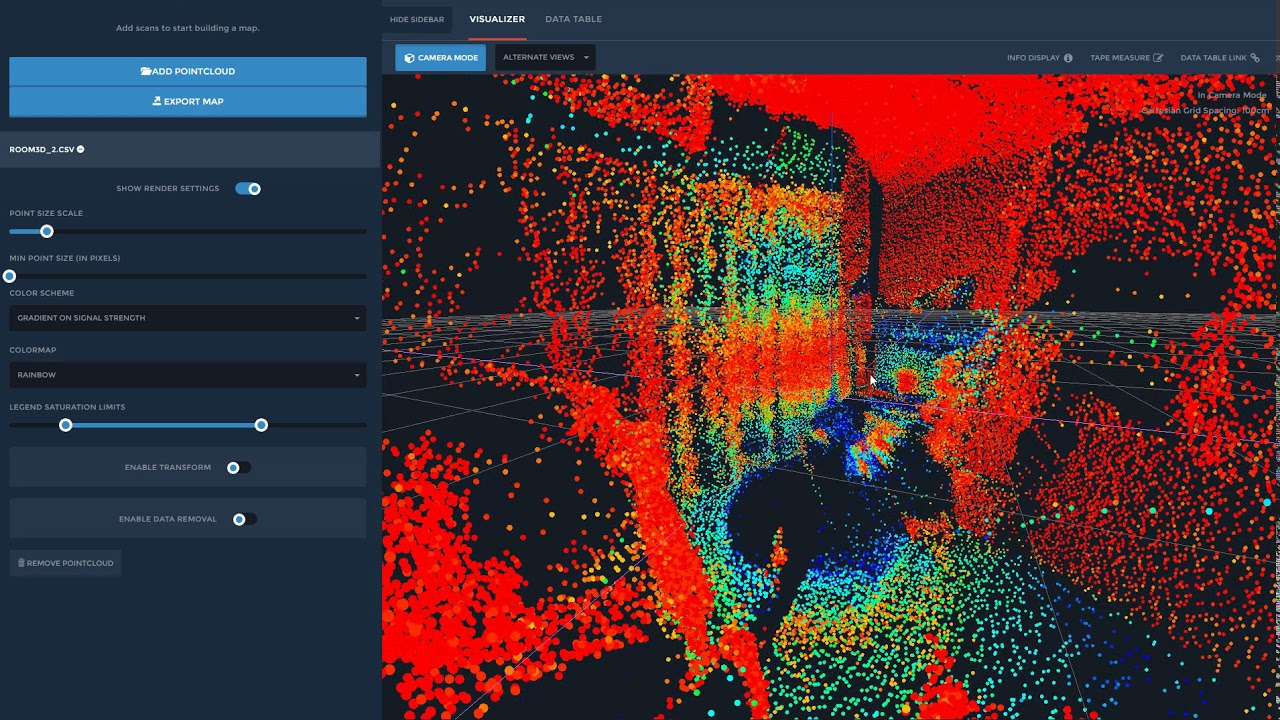 3D scan with Lidar Sweep and cheap tools