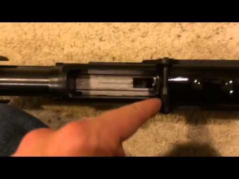 Browning BPS shotgun with SunOptics saddle scope mount installation steps