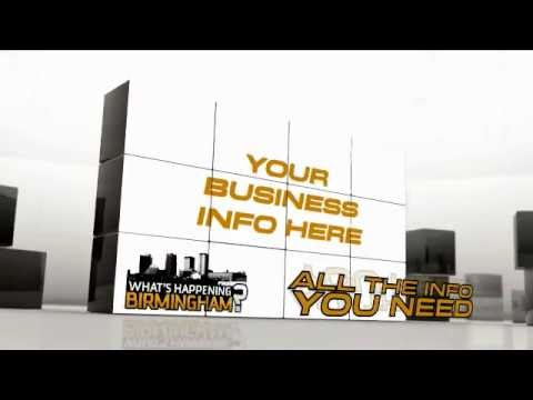 Advertise Your Next Event Or Business On What's Happening Birmingham Today!!