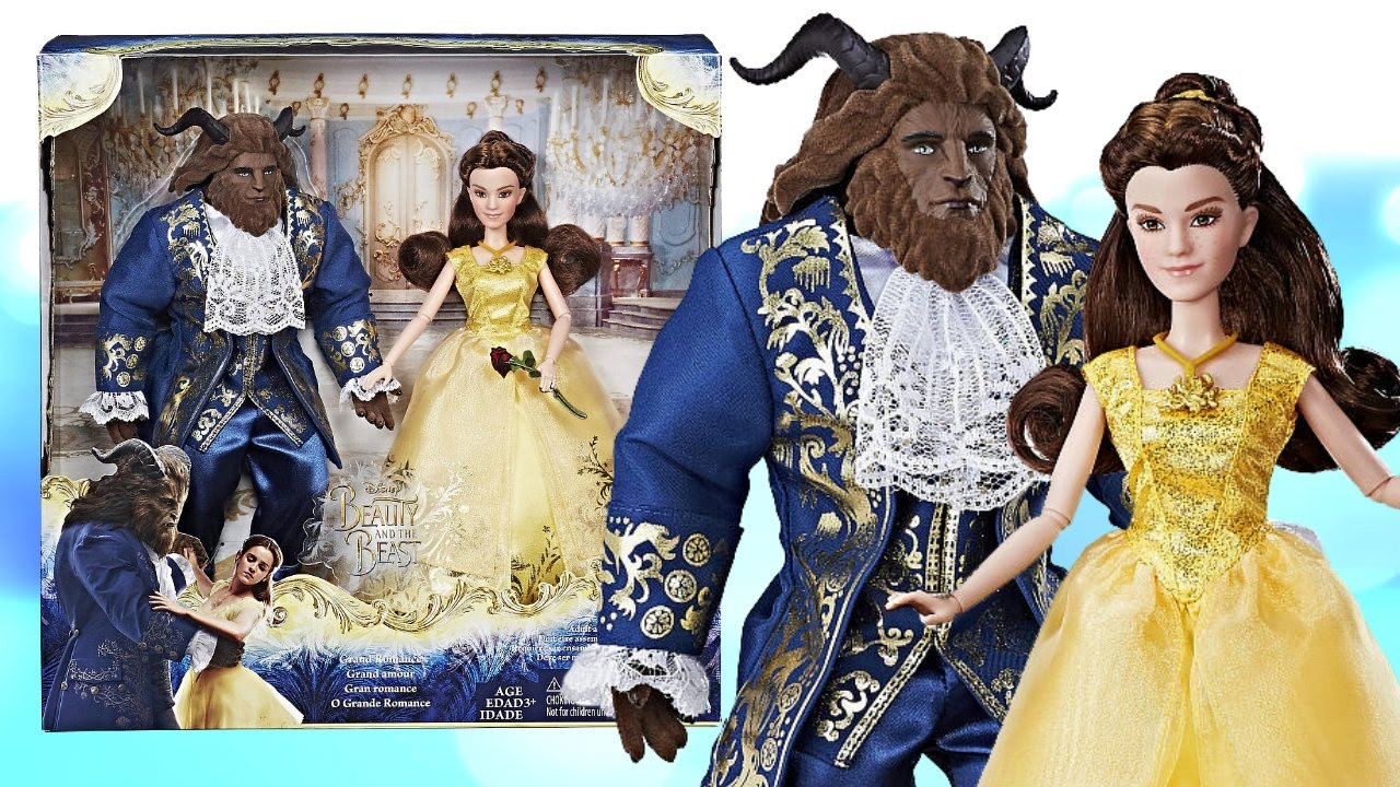 DISNEY BEAUTY THE BEAST GRAND ROMANCE PLAYSET DOLL REVIEW