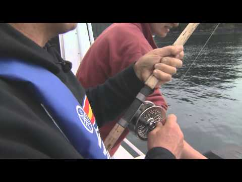 Downrigging For Chinook Salmon Sund's Lodge BC Part 1 Of 4