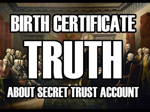 The Truth Surrounding Your Birth Certificate - Valid Proof R