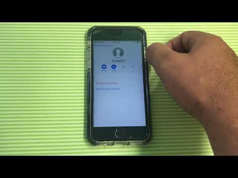 Passcode Bypass iOS 12 (1-Call)