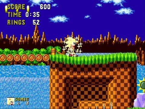 Super Sonic Playable Hack in Sonic the Hedgehog (Sega Genesis)- Hack n' Fun