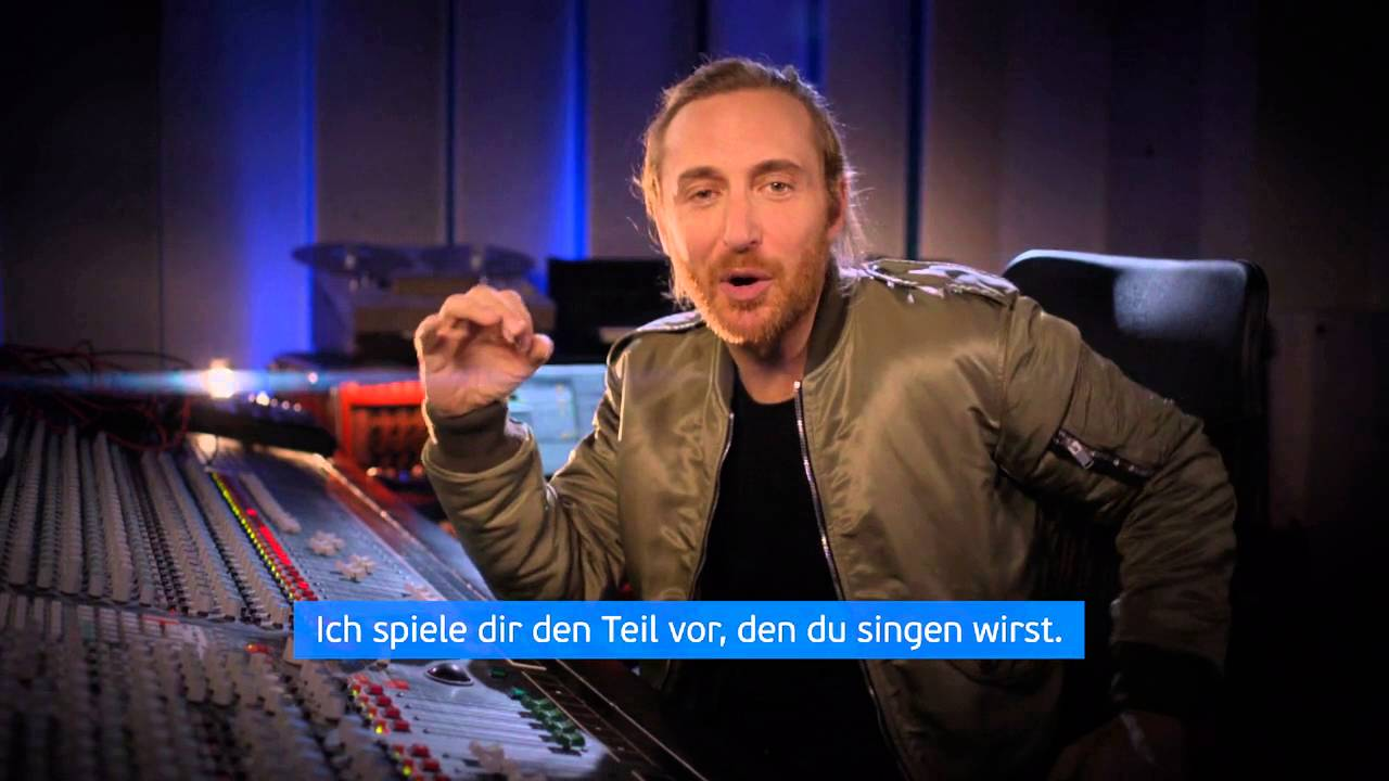 Em 2016 Song Aufnehmen David Guetta This Ones For You Youtube