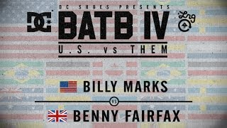 Billy Marks Vs Benny Fairfax: BATB4 - Round 1