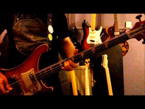 New Rose by The Damned. Bass Cover.