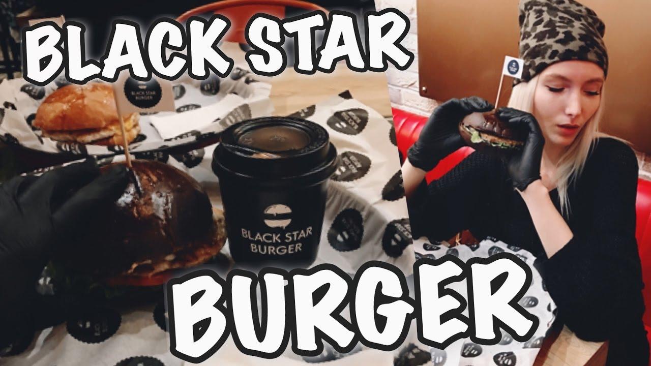 BLACK STAR BURGER Бургеры от Тимати ОБЗОР ЗИМА В МОСКВЕ