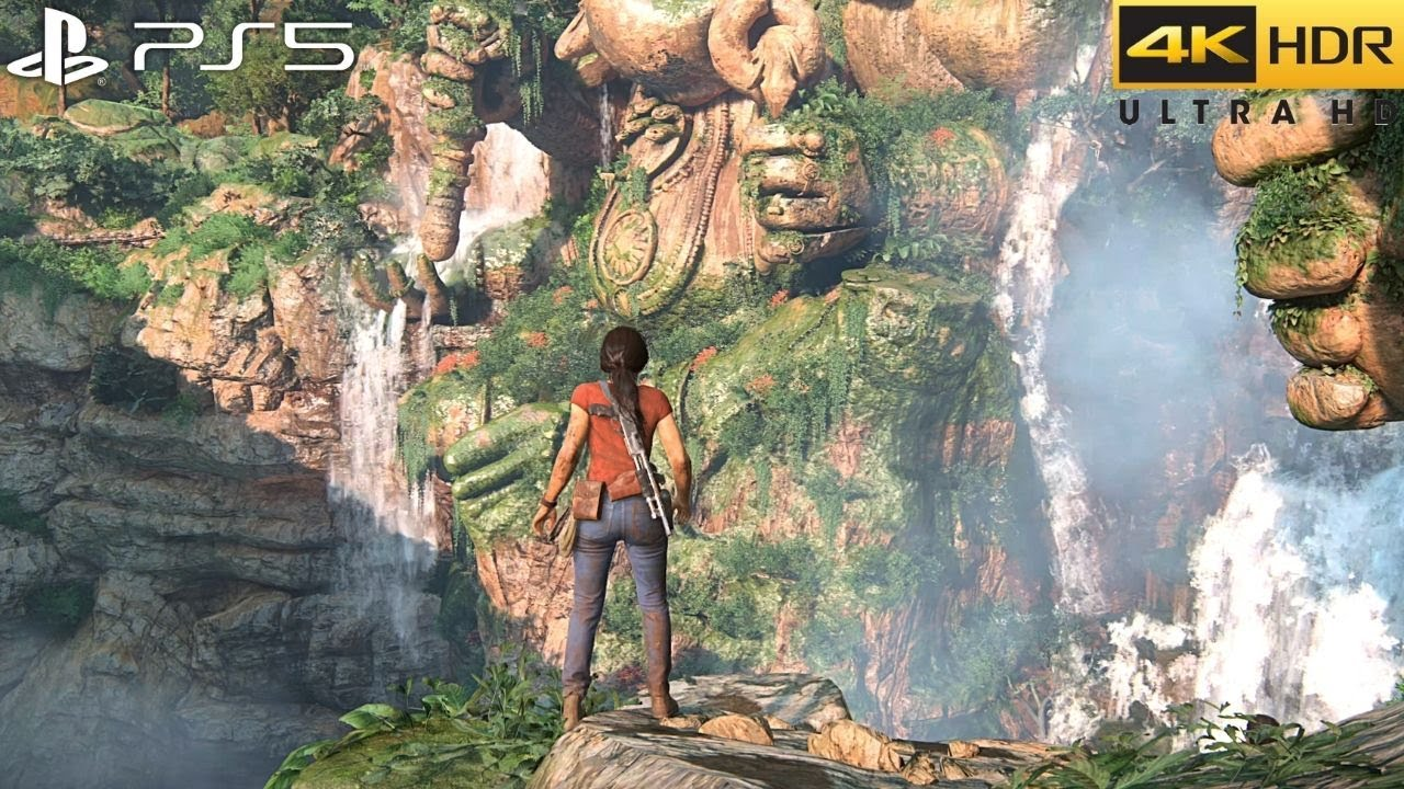 Uncharted: The Lost Legacy (PS5) 4K HDR Gameplay - (Full Game)