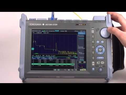 Yokogawa AQ7280 - lokalizator uszkodzeń i OTDR