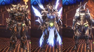 Monster Hunter World - 132 Armor Sets Showcase & Palico Armor Sets (Outfits)