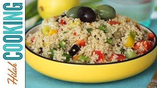Couscous Salad |  Hilah Cooking