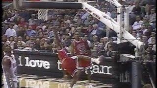 Michael Jordan's hop