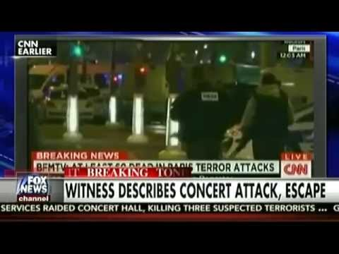 Coverage of Paris attacks by FOX news