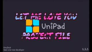 (Unipad)Dj snake - Let Me Love You ft. Justin Bieber | Playing + Project File