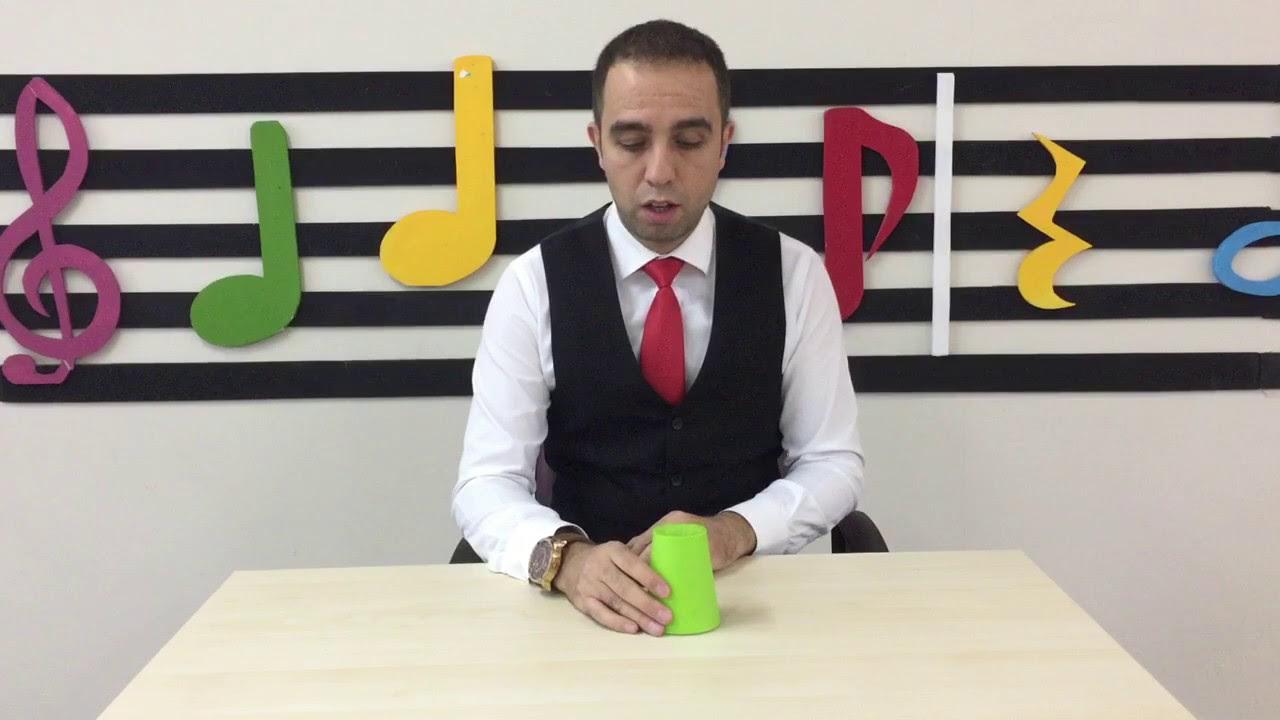 EĞLENCELİ BARDAKLA RİTİM OYUNU ( ANLATIMLI) | Bardak Ritim Çalışması | Hakan Abi ve Gitarı Boncuk