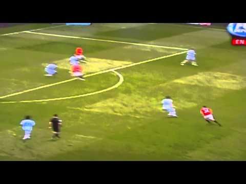 Darren Fletcher brilliant goal Vs. Man City