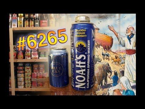 Jon Drinks Water #6265 Noah's Spring Water VS Blue Can Premium Emergency Drinking