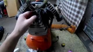 Замена масла в компрессоре Patriot Vx50 402