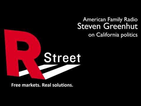Sept 29: Steven Greenhut on American Family Radio