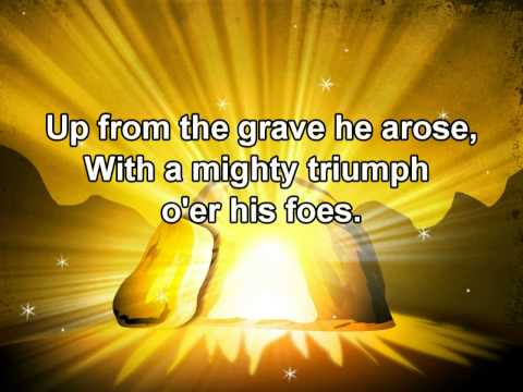Low In The Grave He Lay - with Lyrics - Salvation Army Song Book # 148 (Easter Song)