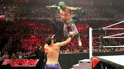 The Lucha Dragons vs. Breezango: Raw, 11. Juli 2016