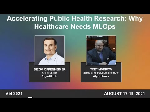 Accelerating Public Health Research: Why Healthcare Needs MLOps
