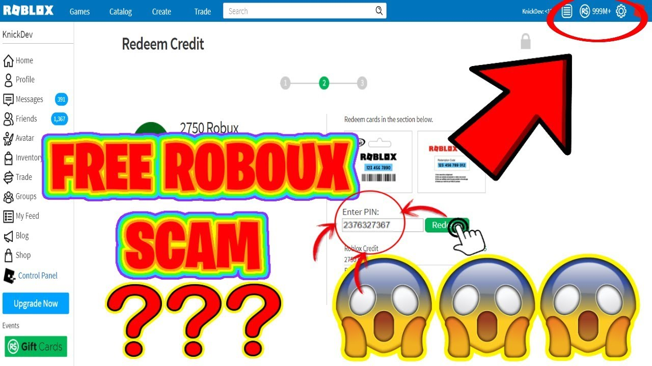 How To Get Free Robux 2019 Scam Youtube