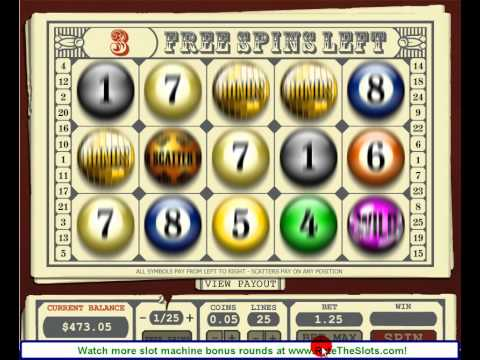 online slot machine bonus