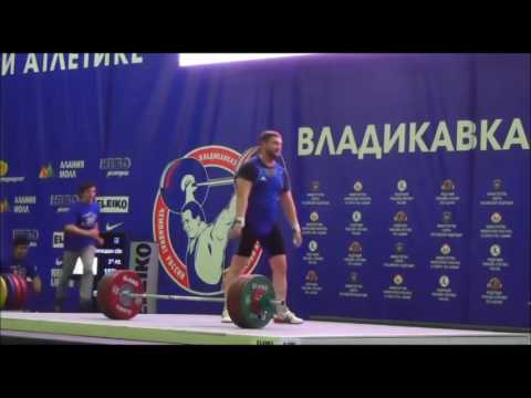 2016 Russian National Weightlifting +105 kg Snatch