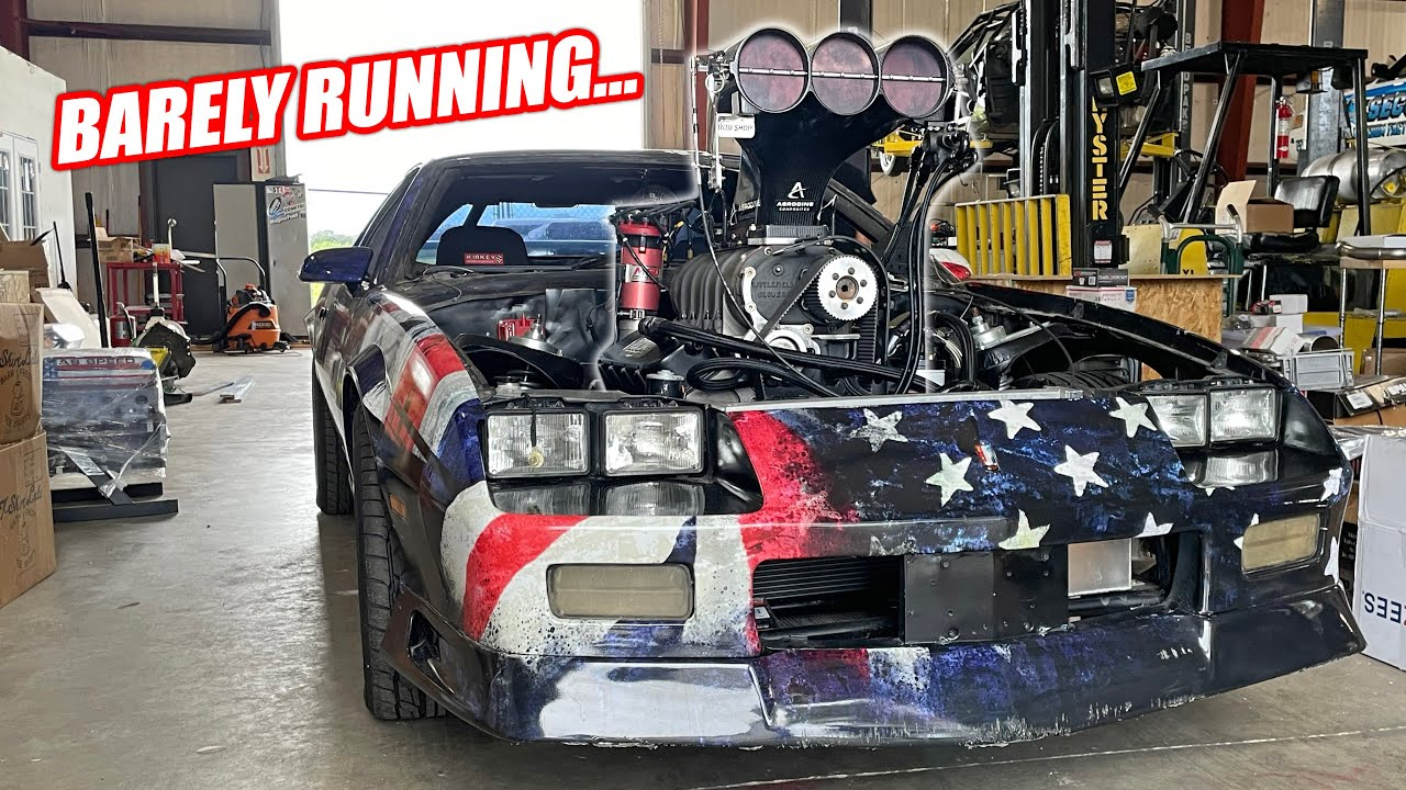 TOAST IS ALIVE! First Fire Up Of His NEW Supercharged Australian Burnout Engine!!!