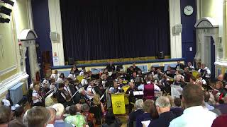 Craven Accordion Orchestra - FINAL COUNTDOWN - Joint Orchestra