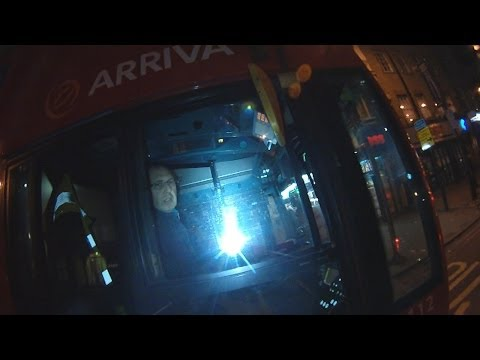 Deliberate Intimidation Of Cyclists By Arriva Bus 133 Driver LJ59LYP