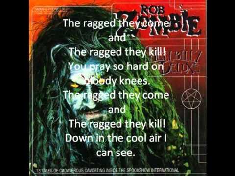 Rob Zombie Feel So Numb Lyric Video Doovi