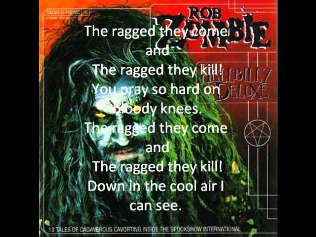 Superbeast Lyrics Rob Zombie Song