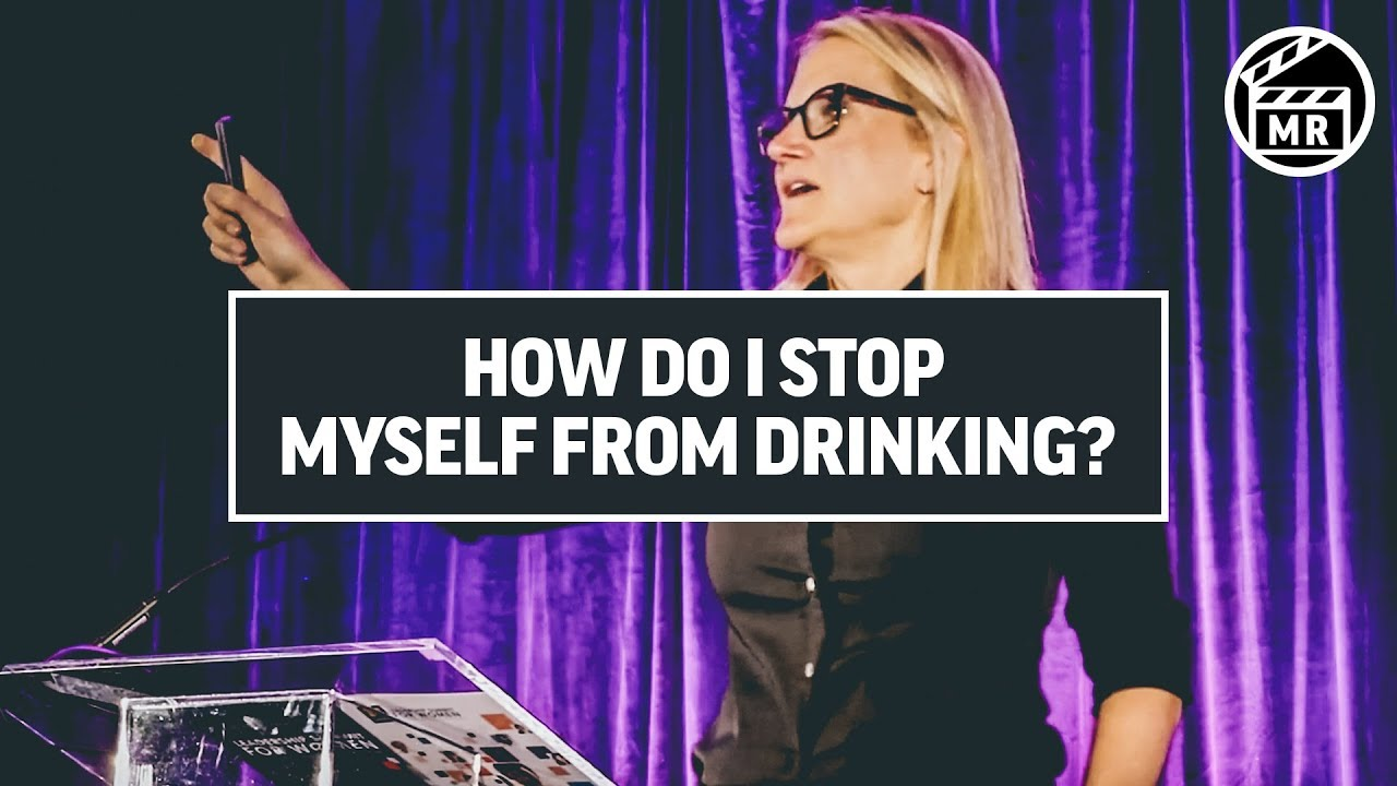 How to quit drinking | Mel Robbins