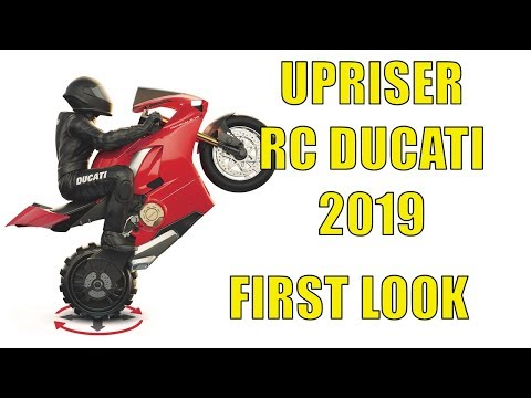Upriser Ducati Panigale V4 S Motorcycle - RC Toys 2019, First Look