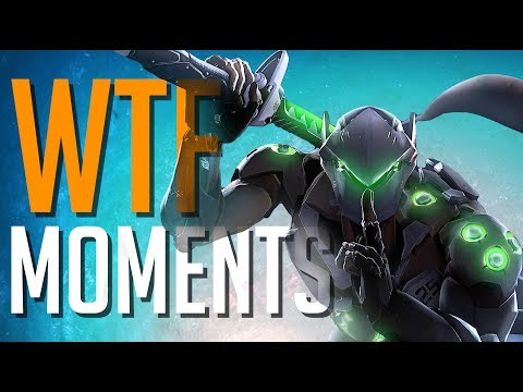 OVERWATCH WTF & FUNNY MOMENTS #72 INVISIBLE GENJI