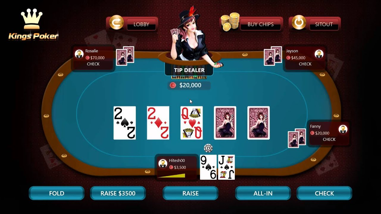 Kings Poker - Multiplayer online Poker Game for Windows 8 (Desktop and  Tablets) - YouTube