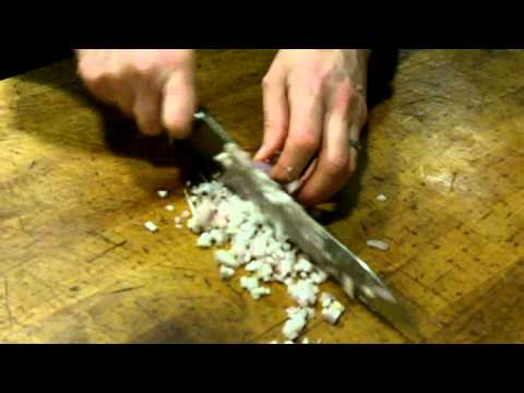 Shun Ken Onion 10 inch Chefs Knife Review