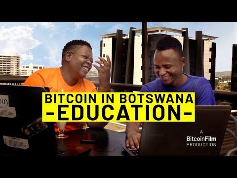 Bitcoin in Botswana- Education