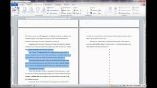 How to Format a Fiction Manuscript