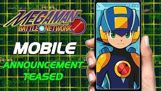 RUMOR: Mega Man Battle Network MOBILE Game Project Teased by Protodude! - Mega News