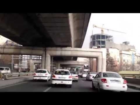 بزرگراه طبقاتی صدر- تهران - ایران ، Sadr Two Level Highway, Tehran, Iran