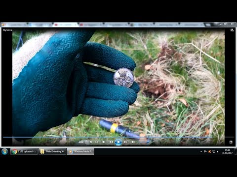 Metal Detecting UK - A beautiful button, chicken & some coins. A fantastic day!