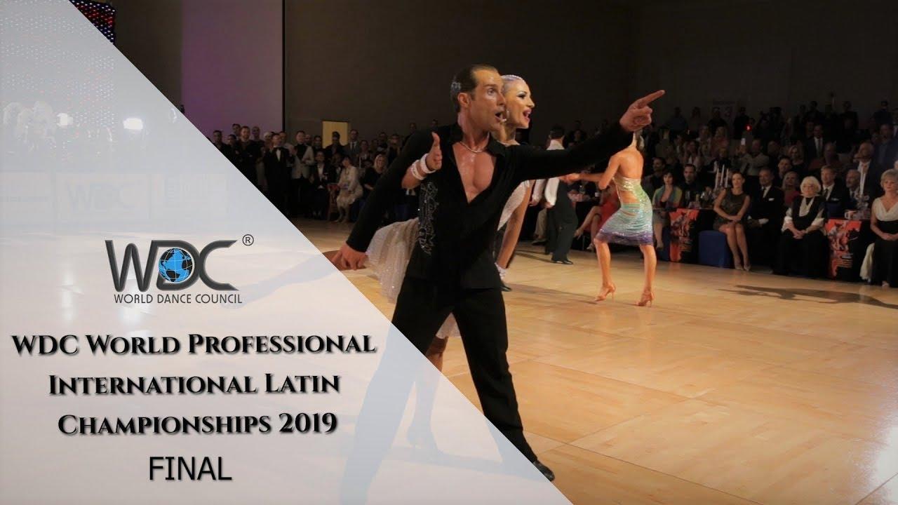 WDC World Professional Latin Championships 2019 I Final
