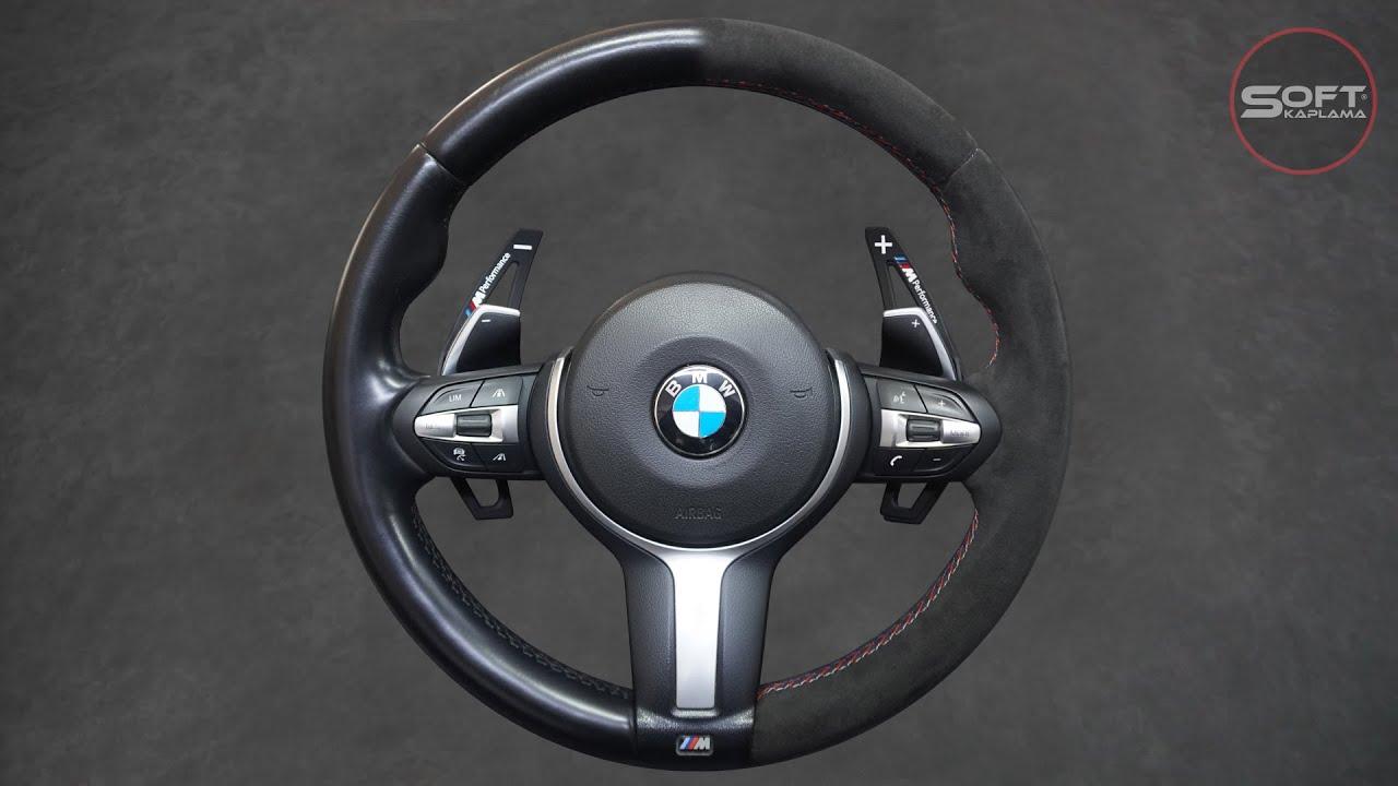 BMW  Direksiyon Kolçak El Freni Körüğü Orijinal Alcantara Kaplama