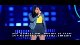 VIDEO:La joven nayarita Yaneth Sandoval cautiva la voz México