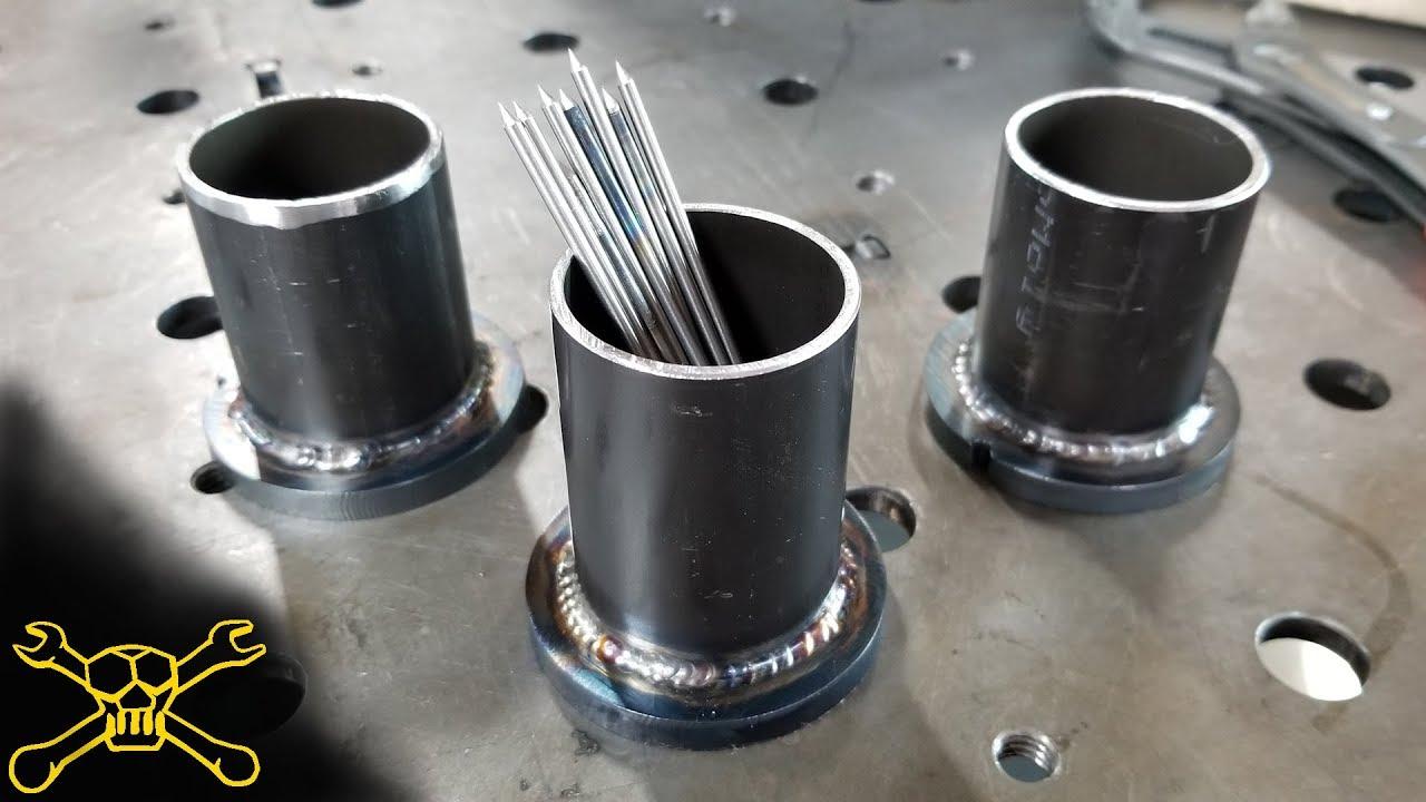TIG Welding Tungsten Holder - YouTube